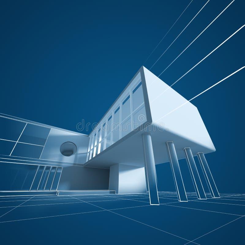 Инженерство архитектуры бесплатная иллюстрация