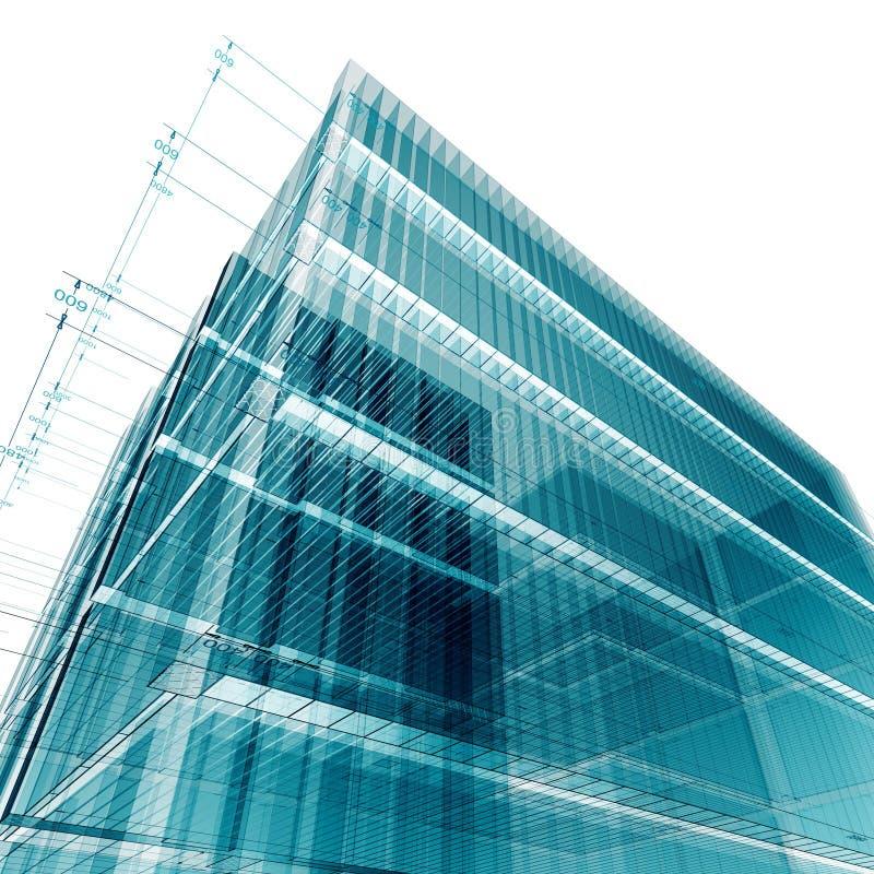 инженерство здания иллюстрация вектора
