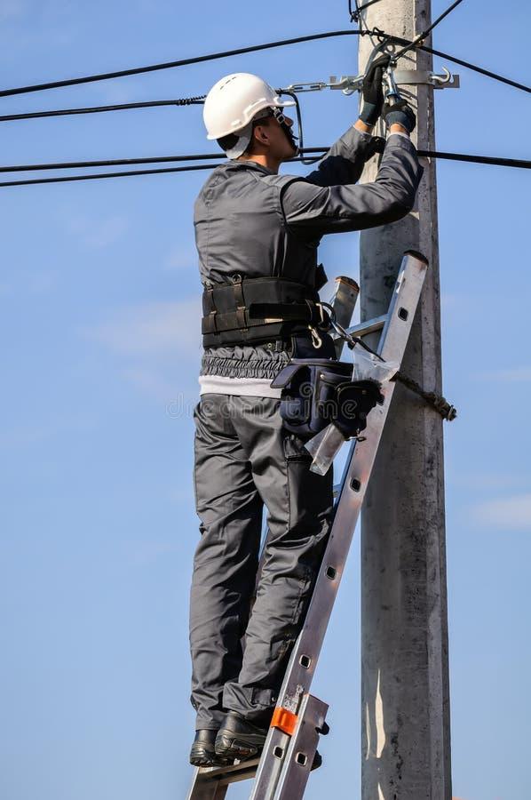 Инженер телефона стоковое изображение rf