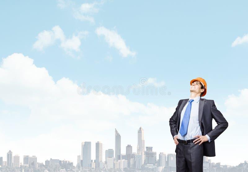 Download Инженер человека стоковое фото. изображение насчитывающей конструкция - 41650388
