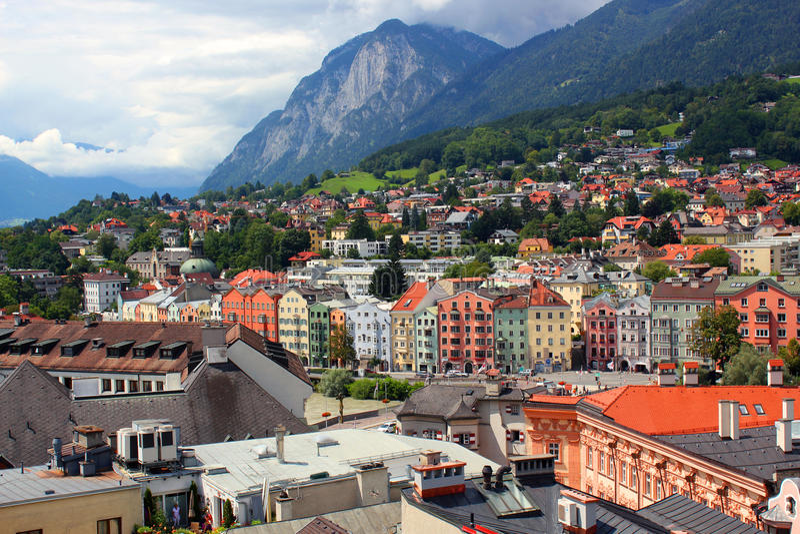 Инсбрук, Австрия стоковые фотографии rf