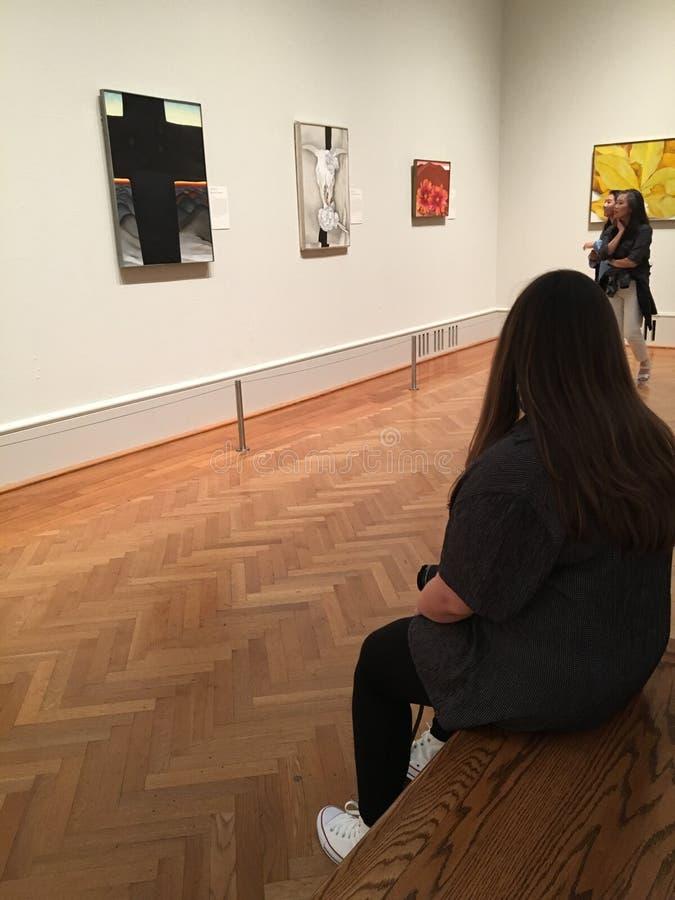 Институт искусства крыла Чикаго современного стоковая фотография