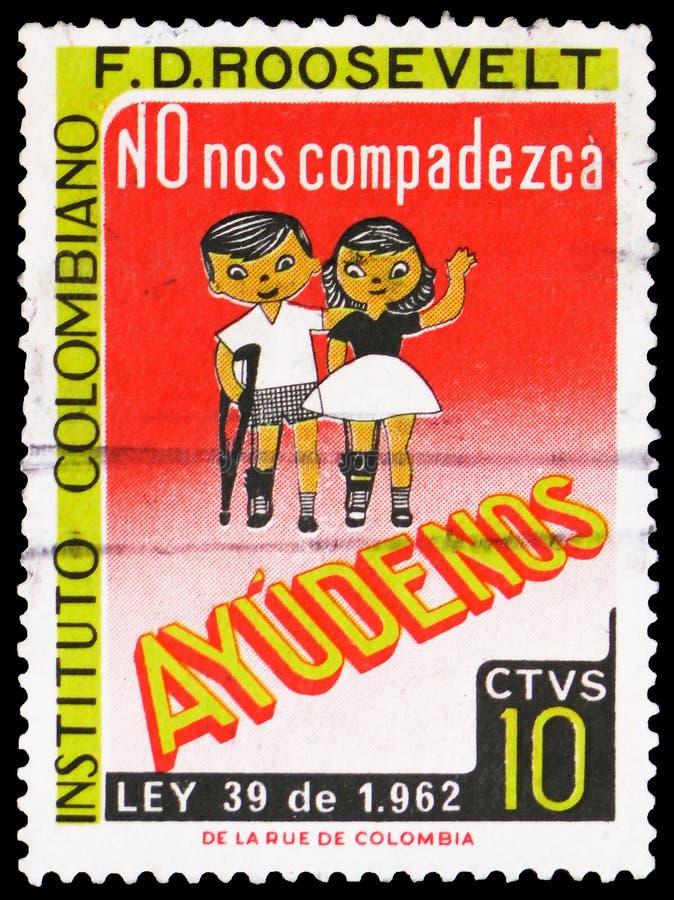 Институт Колумбии f d Рузвельт, serie Колумбии, около 1962 стоковая фотография rf