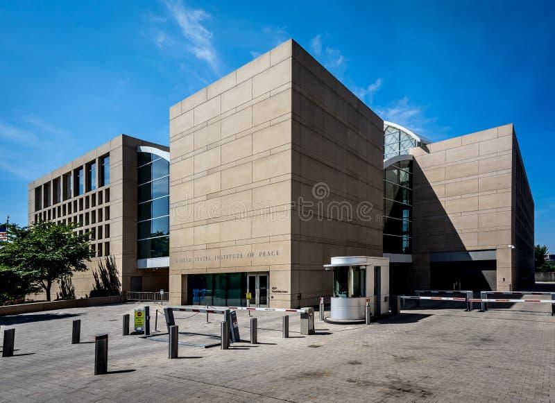 Институт Соединенных Штатов мира стоковое фото