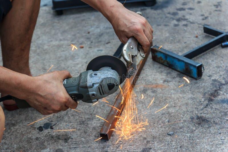 Инструментальный металл работника стоковое изображение