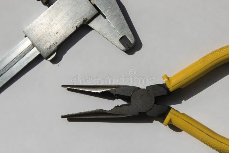 Инструменты для ремонта и дома стоковая фотография rf