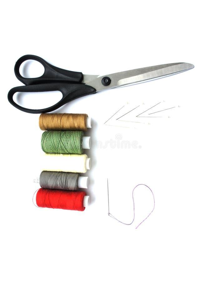 Инструменты для шить стоковая фотография rf