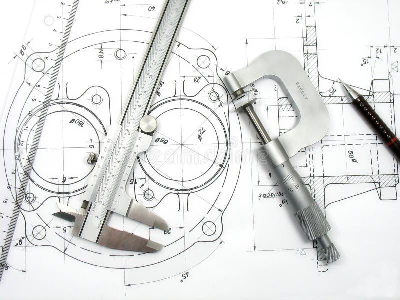 инструменты инженерства стоковое фото rf