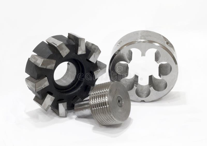 инструменты инструментального металла установленные стоковое фото rf