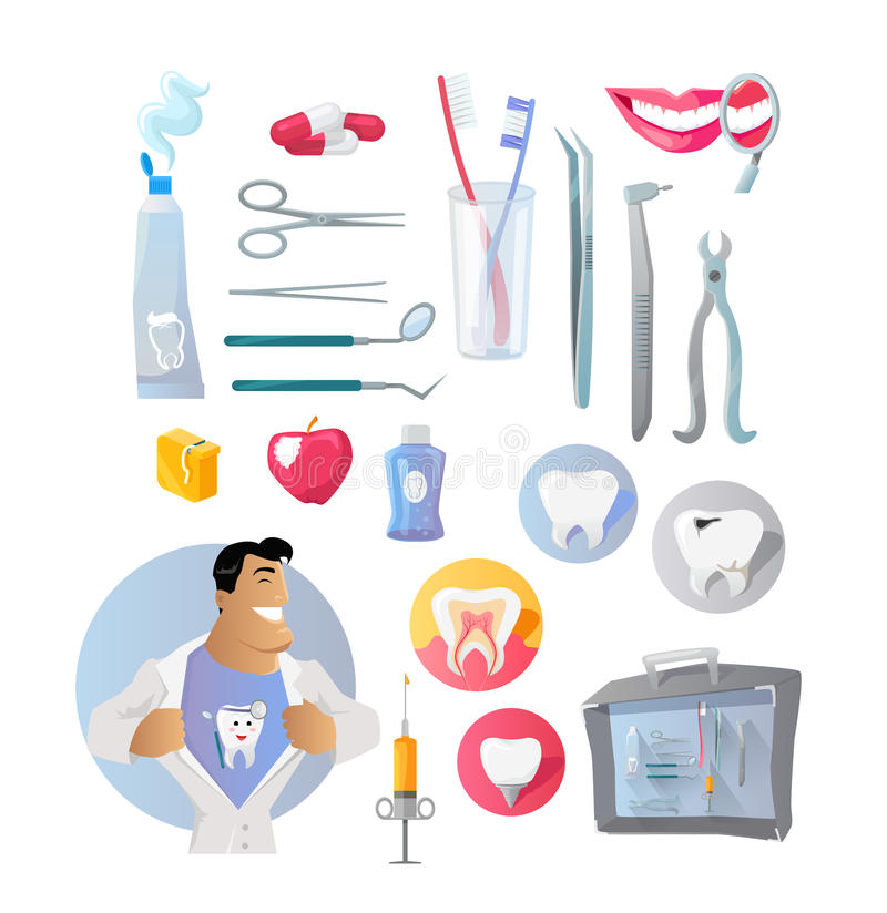 Инструменты для стоматолога картинки для детей