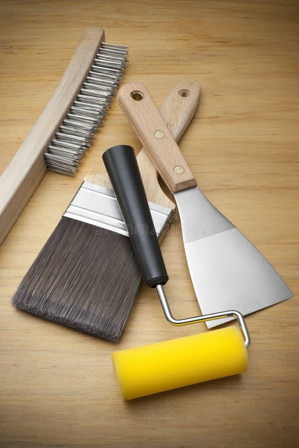 инструменты картины paintbrush стоковые изображения