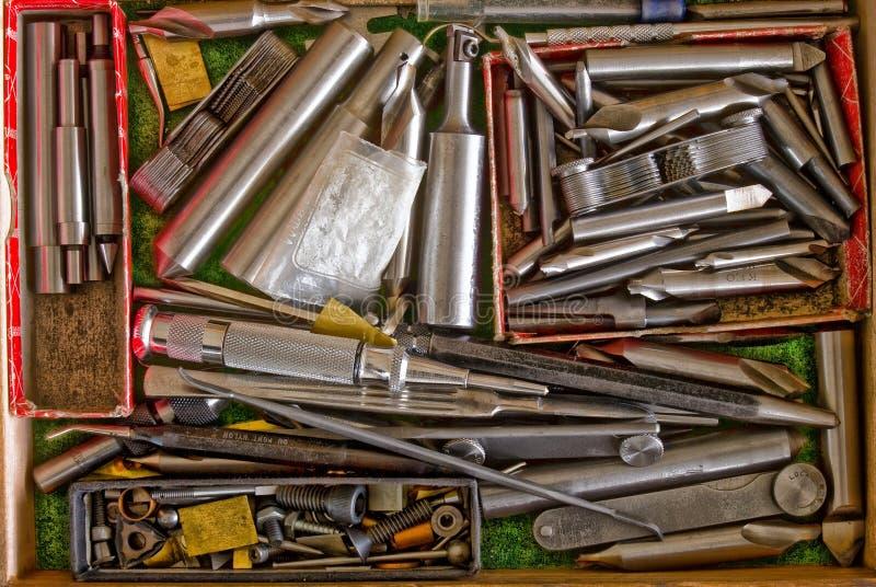 инструменты мачюиниста цвета стоковые фото