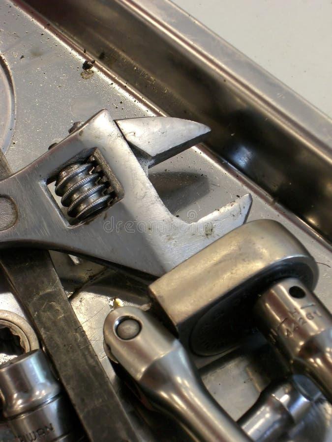инструменты механика типичные стоковые фотографии rf