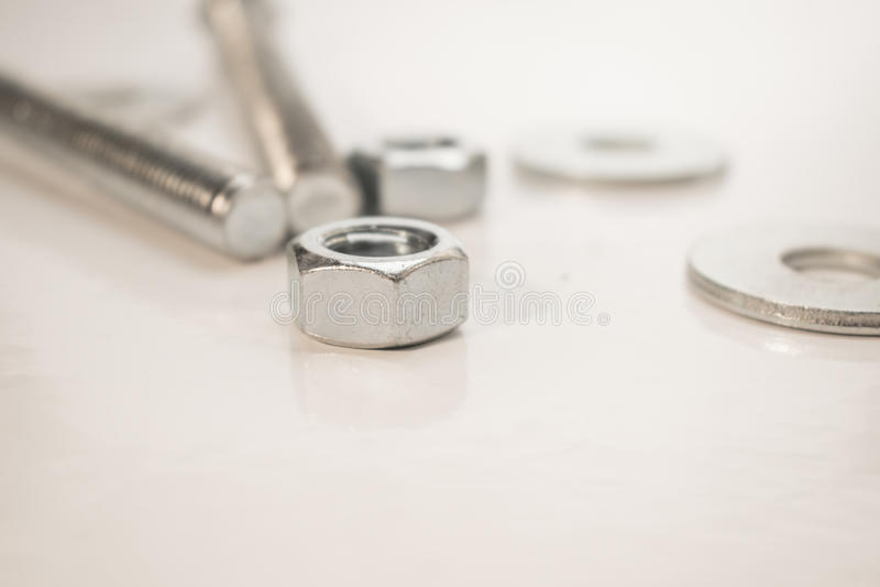 Инструменты на белой предпосылке стоковые фото
