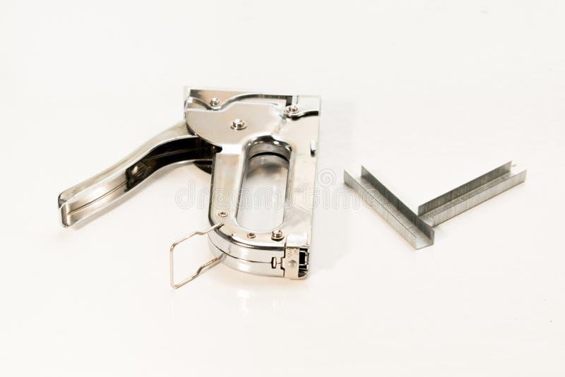 Инструменты на белой предпосылке стоковая фотография rf