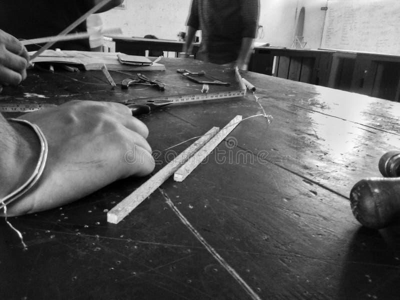 Инструменты проекта работы команды стоковая фотография rf