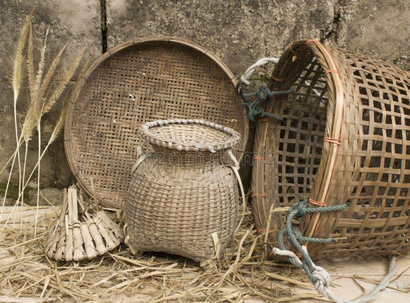 Инструменты сельской местности натюрморта стоковое фото