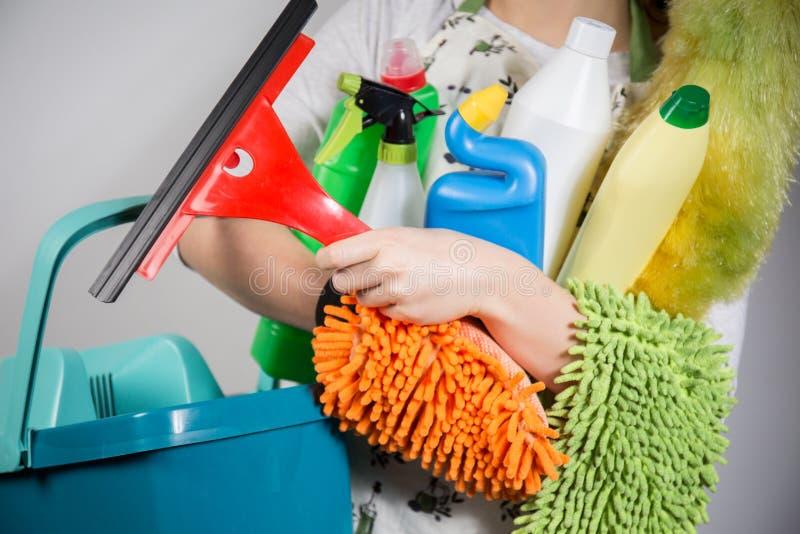 Инструменты чистки стоковые изображения