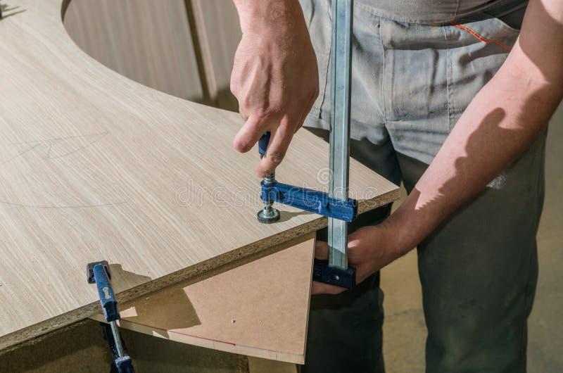 Инструменты для изготовления мебели стоковое изображение rf