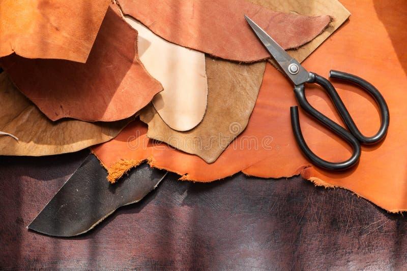 Инструменты для leathercraft стоковые фото