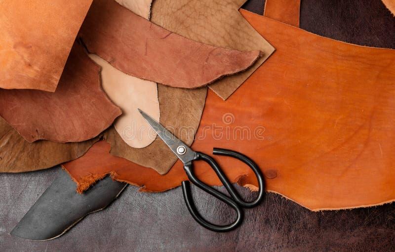 Инструменты для leathercraft стоковые изображения rf