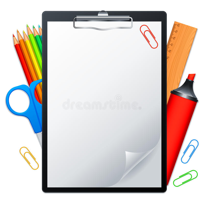инструменты clipboard иллюстрация штока