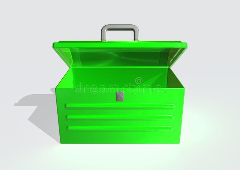 инструмент коробки иллюстрация вектора