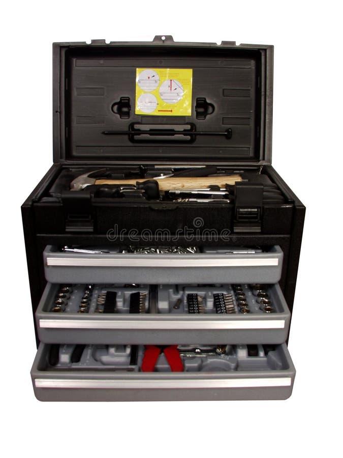 инструмент коробки стоковые фотографии rf