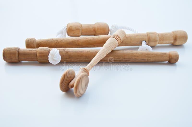 инструмент массажа тайский стоковое изображение