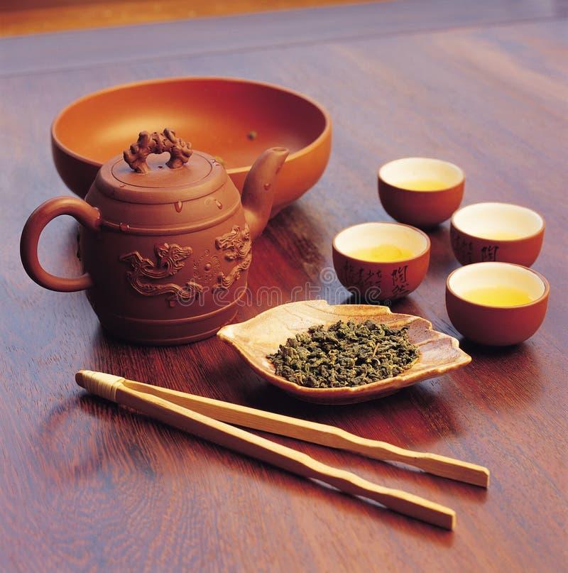инструмент чая питья фарфора стоковые изображения rf