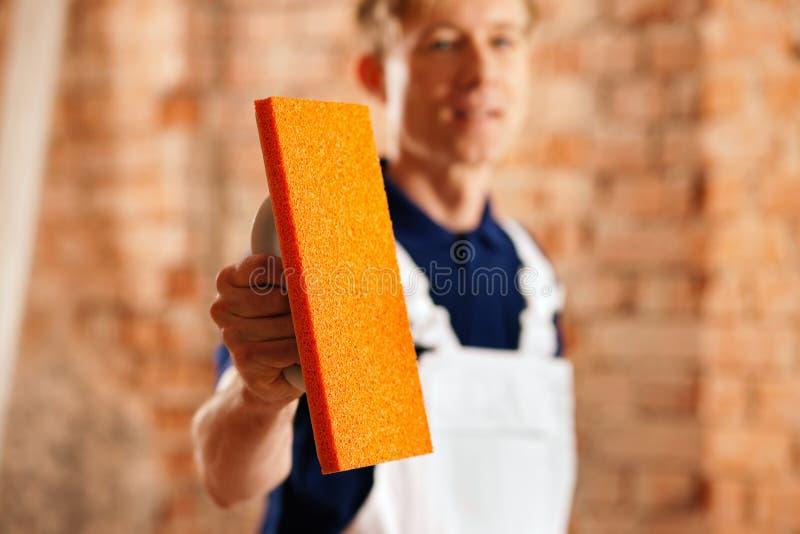 инструмент bricklayer стоковое изображение rf