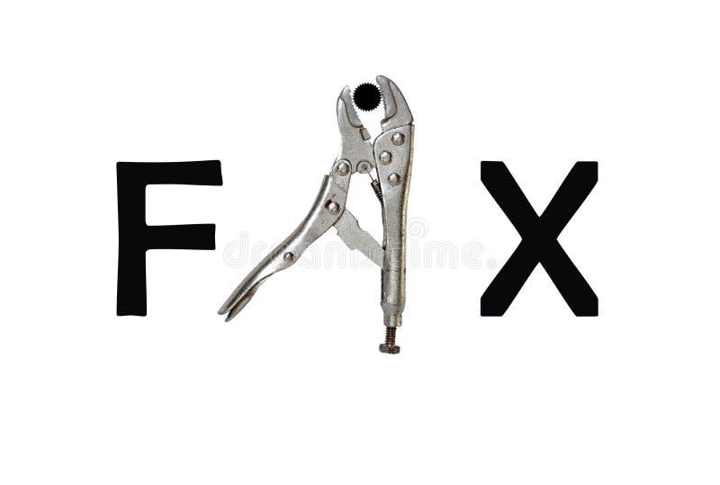 инструмент fix характера стоковые изображения