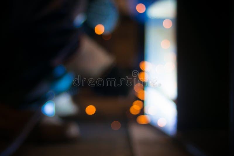 Интенсивный светлый оператор заварки виртуальный и ослепляя стоковое фото rf