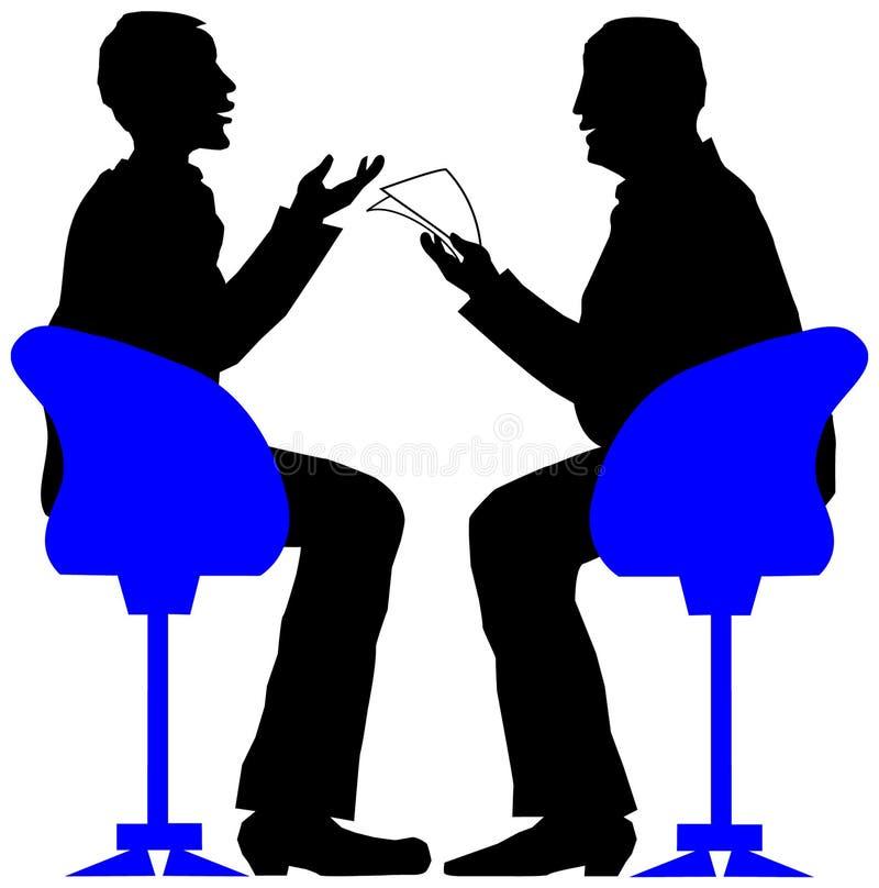 интервью бесплатная иллюстрация