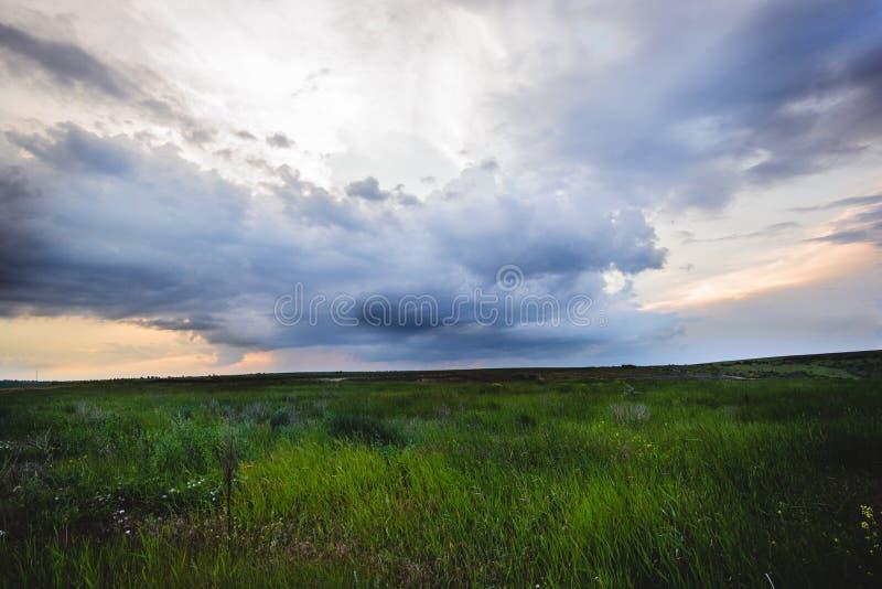 Интересное небо стоковое изображение