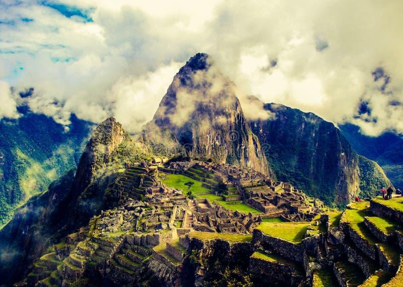 Интерес MachuPicchu стоковое фото