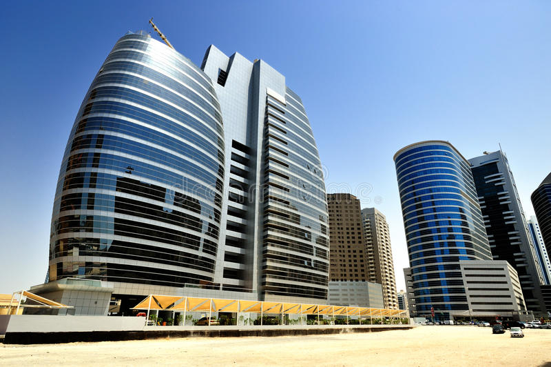 интернет Дубай города стоковые изображения rf