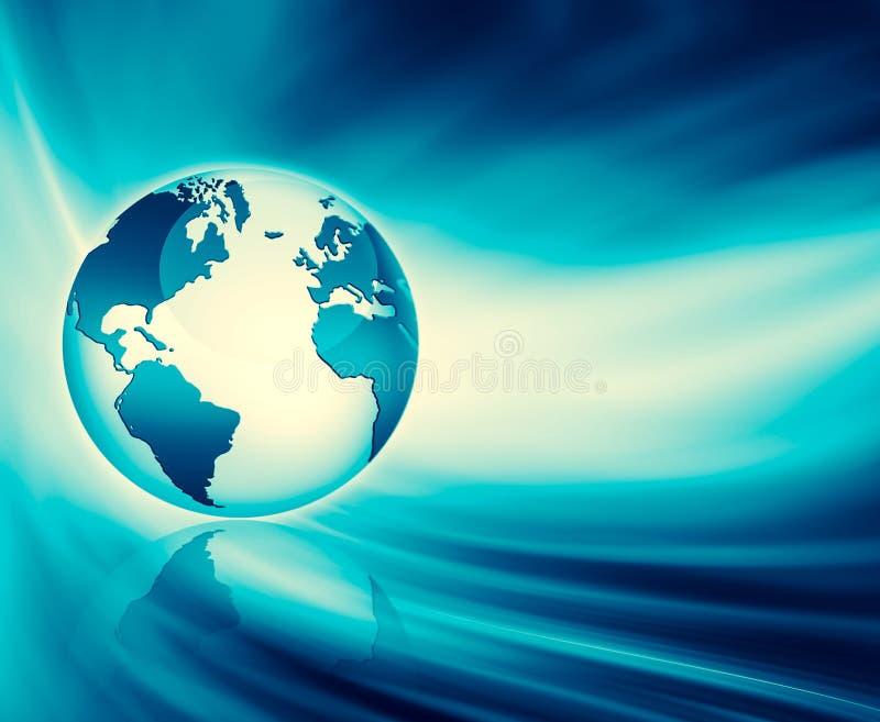 интернет самой лучшей принципиальной схемы дела гловальный Глобус, накаляя линии o бесплатная иллюстрация