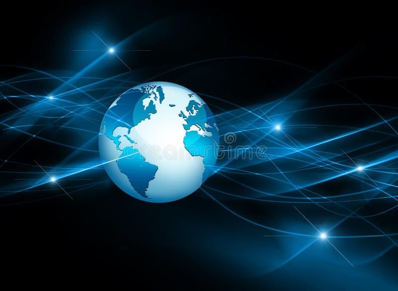интернет самой лучшей принципиальной схемы дела гловальный глобус бесплатная иллюстрация