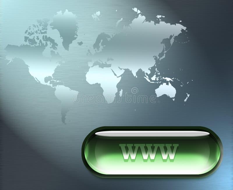 интернет соединения иллюстрация вектора