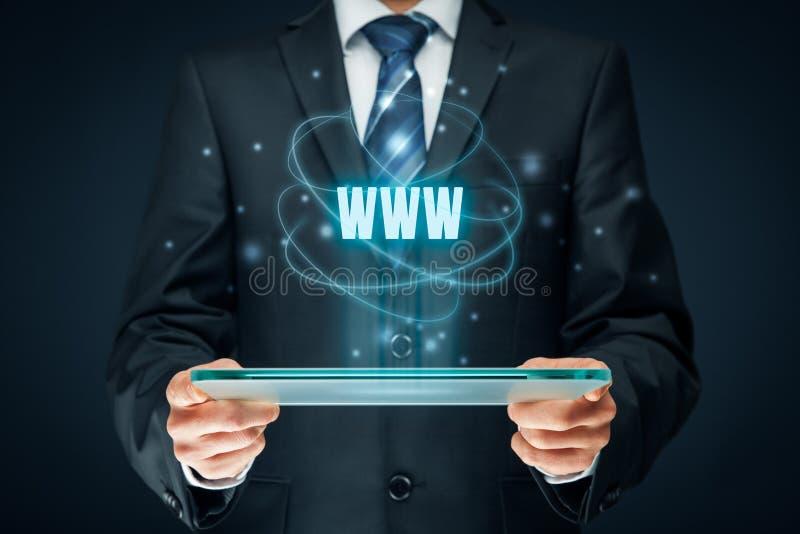 Интернет Www и SEO стоковые изображения