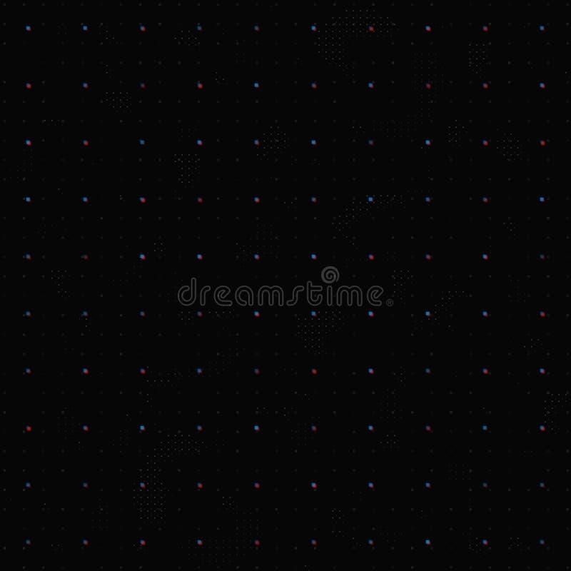 Интерфейс решетки HUD иллюстрация штока