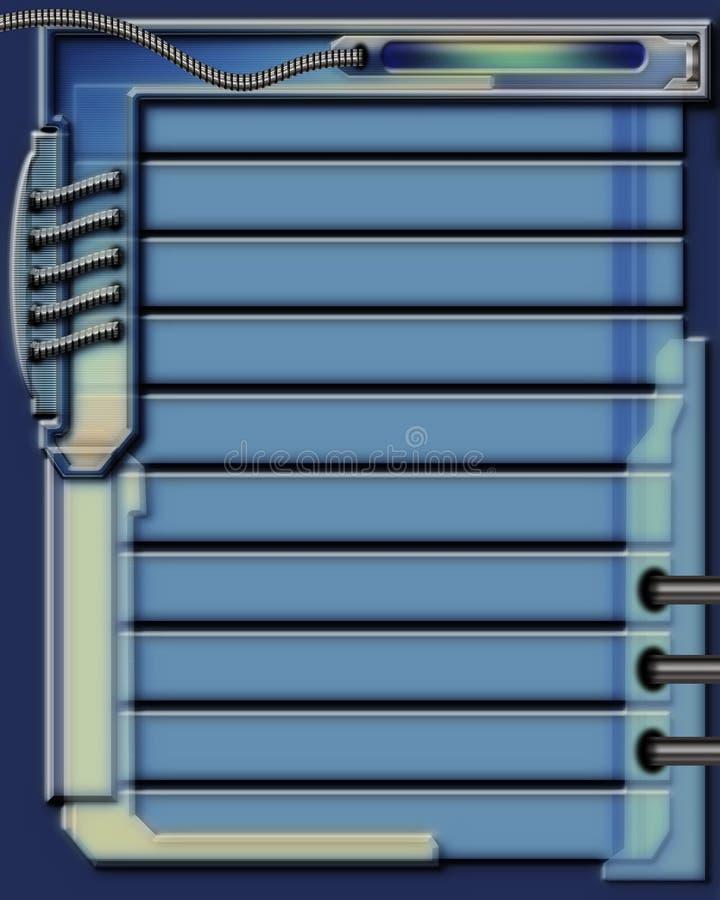 интерфейс 4 иллюстрация вектора