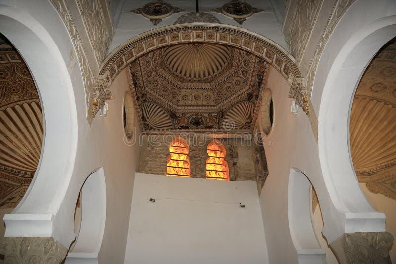 Интерьеры старой церков в Toledo, Испании стоковое фото rf