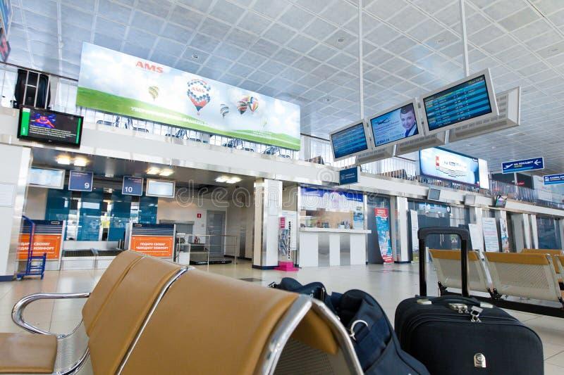 Интерьер авиапорта стоковое изображение rf