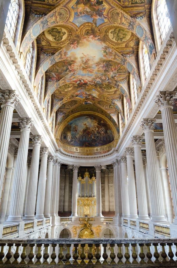 Интерьер дворца Версаль стоковое фото