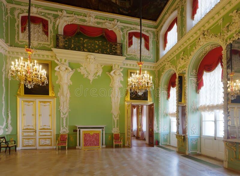 Интерьер дворца Stroganov стоковая фотография rf