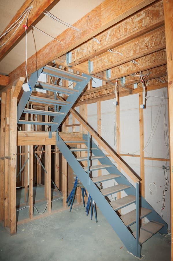 Интерьер дома конструкции стоковые фото