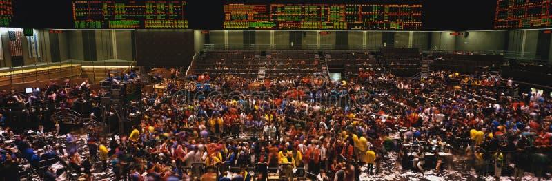 Интерьер доски Чiкаго торговли стоковые фотографии rf