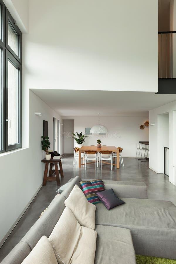 Интерьер, деталь живущей комнаты стоковое фото rf